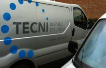 Tecni van side