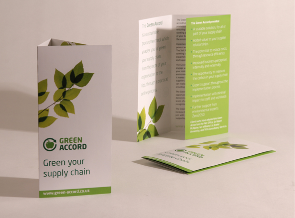 Green Accord leaflet